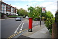 TQ3573 : Postbox, corner of Hengrave Rd by Nigel Chadwick