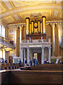 TQ3877 : St Peter &amp; St Paul, Old Royal Naval Chapel, Greenwich - West end by John Salmon