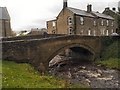NY8383 : Bellingham, Bridge over Hareshaw Burn by David Dixon