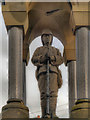 NY8383 : Fusilier Statue, Boer War Memorial by David Dixon