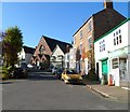 SO6911 : Western side of High Street, Newnham-on-Severn by John Grayson