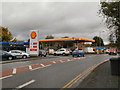 NY9364 : Shell Filling Station, Haugh Lane by David Dixon