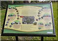 SJ8990 : Community Orchard Information Board by Gerald England