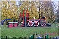 SJ5481 : Children's play area by Ian Greig