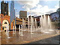 SJ8398 : Greengate Fountains by David Dixon