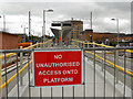 SJ9399 : Metrolink Construction, Ashton Terminus by David Dixon