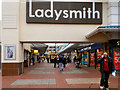 SJ9399 : Ladysmith Shopping Precinct by David Dixon