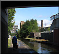 SJ8845 : Stoke-upon-Trent - A5007 bridge over canal by Dave Bevis