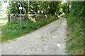 SP0611 : Byway and footpath at Chedworth by Graham Horn