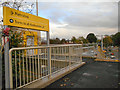 SJ8590 : East Didsbury Metrolink Terminus (Construction Site) by David Dixon