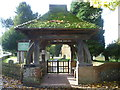 TQ4658 : Lychgate leading to St Katherine's Church, Knockholt by Ian Yarham