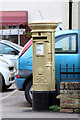 TL5326 : Gold Post Box, Robin Hood Road by Oast House Archive