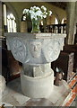 SX2281 : Font, St Nonna's Church, Altarnun by Bill Harrison