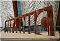 J3575 : Sign, Titanic Belfast by Rossographer