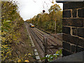 SJ8486 : Railway at Heald Green by David Dixon