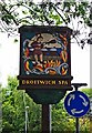 SO9063 : Town sign, Hanbury Road, Droitwich Spa by P L Chadwick