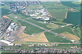 TQ8789 : Southend airport, aerial 2002 by Chris