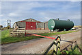TA0016 : Farm Buildings and Storage Tank on Middlegate by David Wright