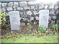 NJ8715 : Luftwaffe pilots graves at Dyce by Stanley Howe