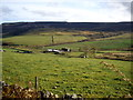 NJ6504 : View east from the B993 summit of Learney Hill by Stanley Howe