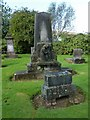 NS3979 : Bonhill Parish Kirkyard by Lairich Rig