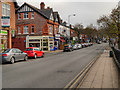 SJ8478 : Alderley Edge, London Road by David Dixon