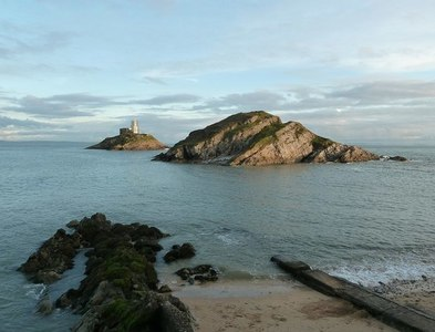 SS6387 : Middle Head and Mumbles Head by Rob Farrow