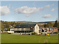 SK0394 : Glossop Cricket and Bowling Club by David Dixon