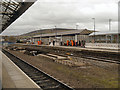 SJ9598 : Stalybridge Railway Station by David Dixon