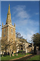 SK9341 : St Nicholas' church, Barkston by J.Hannan-Briggs