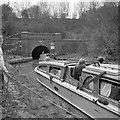 SP7252 : Blisworth Tunnel, north end, 1962 by Robin Webster