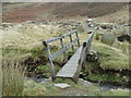 SK0794 : Footbridge, Doctor's Gate path by Andrew Hill
