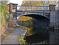 SJ5182 : A bridge on the Bridgewater Canal at Runcorn by Ian Greig