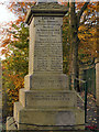 SJ9696 : Victoria Street War Memorial (dedication) by David Dixon