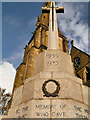 SD8010 : Bury War Memorial Cross by David Dixon