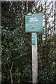 SJ9582 : Peak &amp; Northern Footpath Sign no. 245 by Graham Hogg