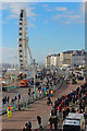 TQ3103 : Madeira Drive &amp; Brighton Wheel by Oast House Archive