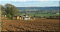 ST6937 : 2012 : Farm buildings at Copplesbury Farm by Maurice Pullin
