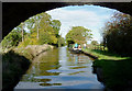 SJ6150 : Llangollen Canal west of Ravensmoor, Cheshire by Roger  Kidd