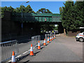 TQ1566 : Railway bridge over Portsmouth Road by Hugh Venables