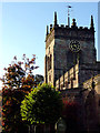 SJ6353 : Church of St Mary in Acton, Cheshire by Roger  Kidd