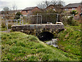 SJ8090 : Bridge Over Baguley Brook by David Dixon