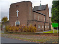 SJ8090 : St Aidan's Catholic Church, Northern Moor by David Dixon