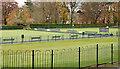 J5081 : Bowling greens, Bangor (2012) by Albert Bridge