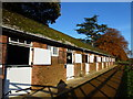 TF7028 : Royal stable block near Home Farm, Sandringham by Richard Humphrey