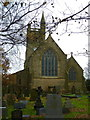 SD9507 : St Thomas' Church, Moorside by Alexander P Kapp