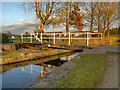 SJ8997 : Clockhouse Swing Bridge, Fairfield by David Dixon