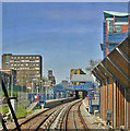 TQ3780 : All Saints station, Docklands Light Railway by Ben Brooksbank