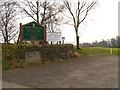 SJ9692 : Werneth Low Golf Club Entrance by David Dixon
