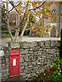 SD4675 : Victorian postbox, St John's Church, Silverdale by Karl and Ali